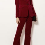 Velvet Talored Trousers - Karen Millen